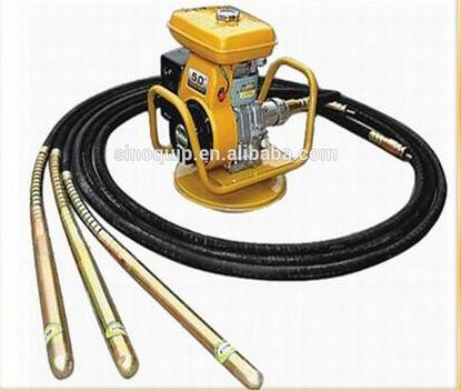 butterfly type concrete vibrator machinery with gasoline engine