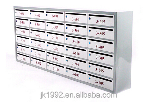 Mailbox Name Plates,2015 New Unique Design Cold-rolled Plate Waterproof Locked Letter Box