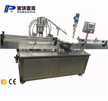 Powerrig machinery high stable automatic medical oral liquid filling and capping machine
