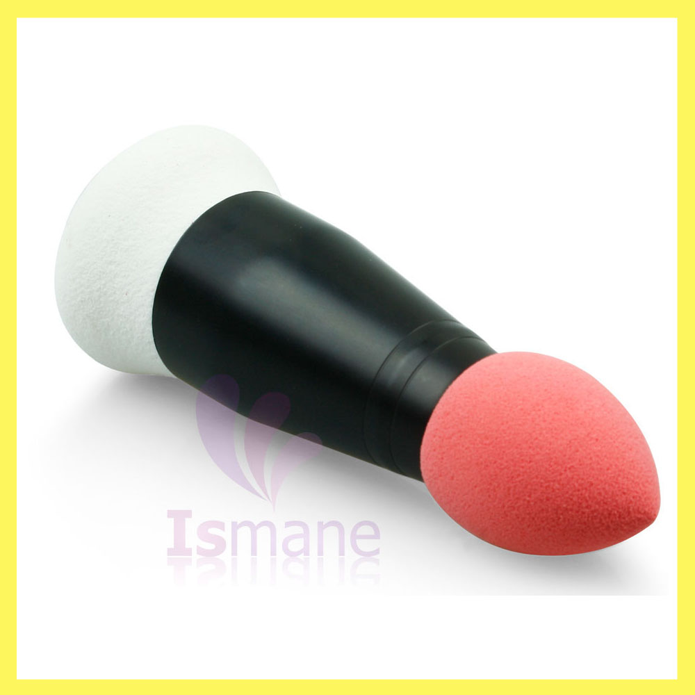 Alibaba new arrival professional sponge head double end single makeup brush