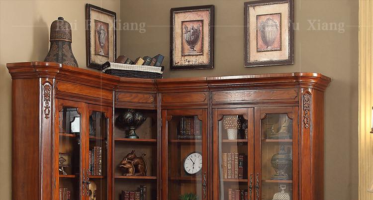 Credenza Con I Pallet : Di legno in stile americano scaffale combinazione credenza con porta