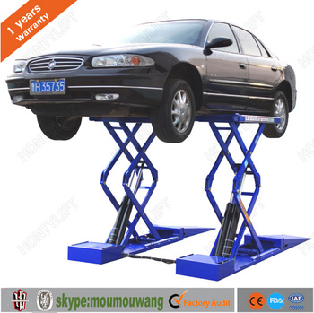 Automobile Home Garage Used Scissor Car Lifts Home Hydraulic Car