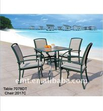 Metal Outdoor Furniture(EMT-7078DT-2017C)