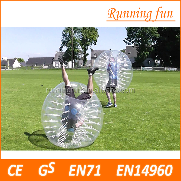 Hot!!TPU/PVC inflatable plastic human sized hamster ball,giant hamster ball