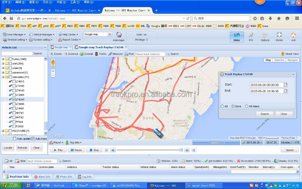 Web based gps tracking software / platform / system install free play store app google play download