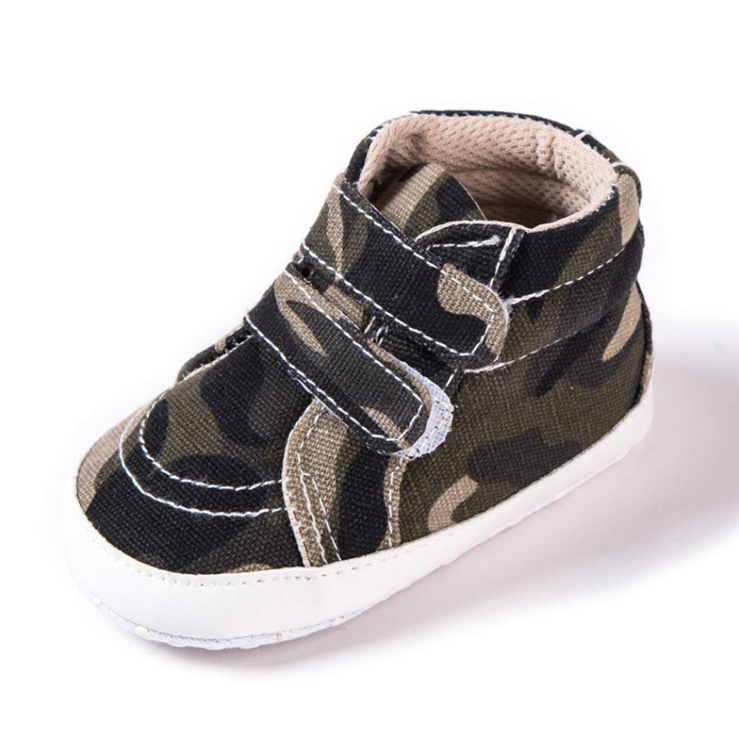 Get Quotations · Lanhui Toddler Baby Infants Girl Boy Camouflage Soft Anti- slip Canvas Shoes (Camouflage 21c19687d6a7