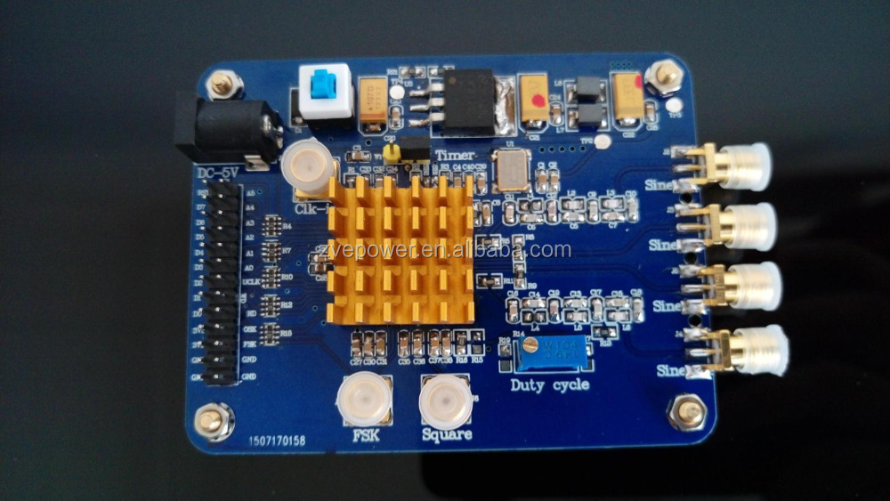 High-speed AD9854 DDS signal generator module development board Evaluation