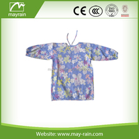 hot product fashion printing apron children painting apron