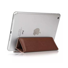 10 inches foldable flip stand pouches leather case for ipad air 2