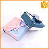 Customized professional bracelet packing paper box with ribbon