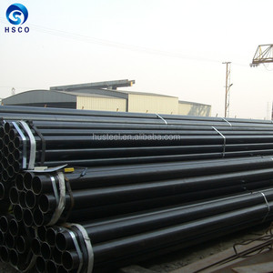 Mild steel ERW pipe tube with groove end for fire protection system made by China mill