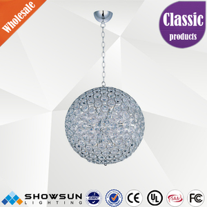wholesale beaded CE and UL commercial LED decoration chandelier
