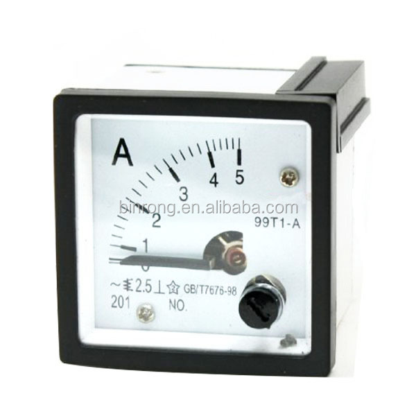 AC 500mA Analog Ammeter Panel AMP Current Meter 0-500mA 60*70mm directly Connect