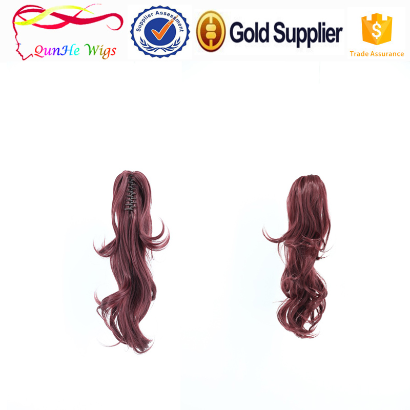 best products for synthetic hair claw clip ponytail extensions wigs accessories for women