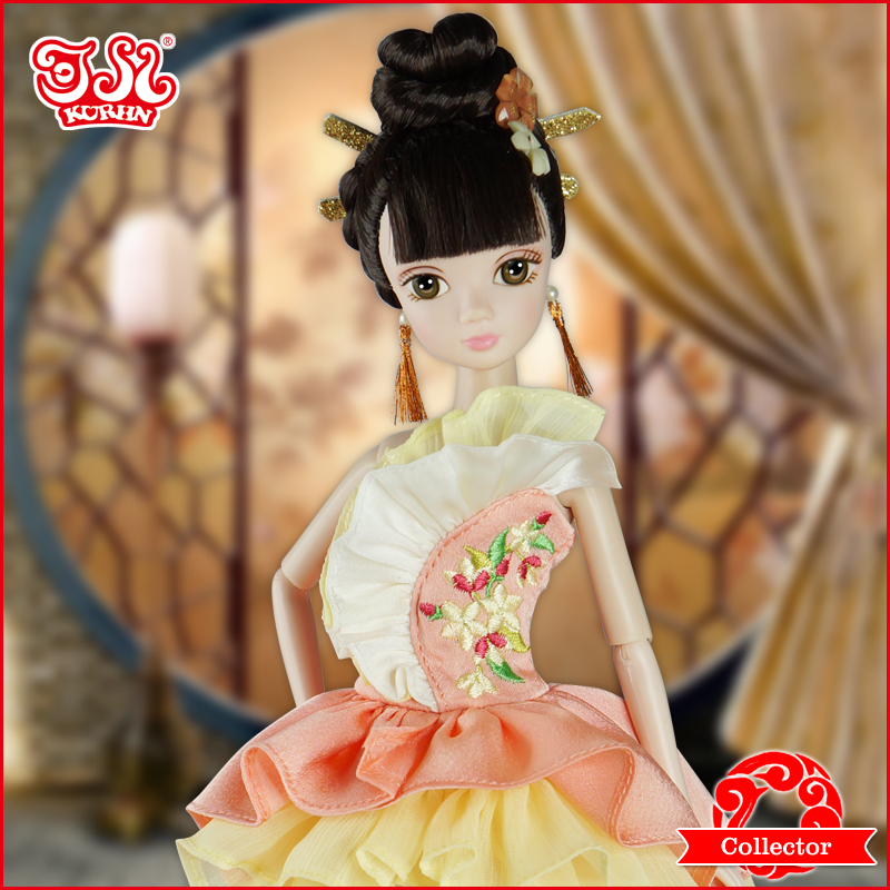 New arrival 2015 fashion Chinese bride <strong>doll</strong>