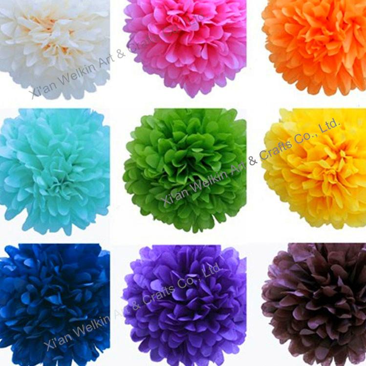 Paper pom pomshanging paper flower ballcheap paper flowers buy paper pom poms hanging paper flower ball cheap paper flowers mightylinksfo