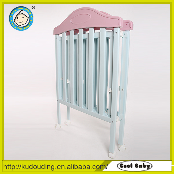 Hot sale european standard baby crib furniture
