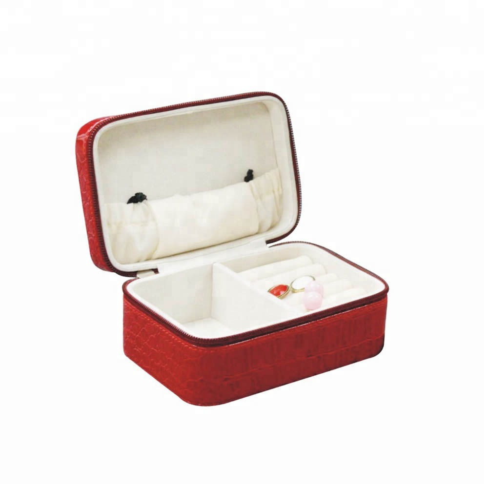 Leather jewelry paper box custom jewelry boxes packaging popular style make jewellery case