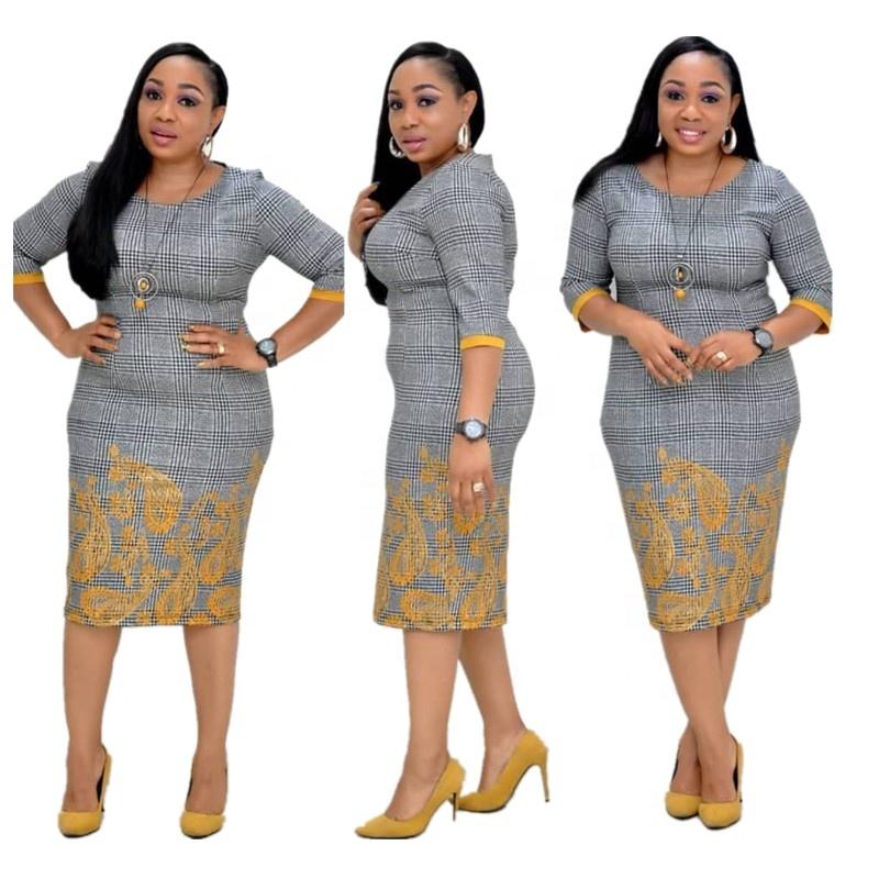Nuevo Señoras Vestido Africana De 2019 Ropa Para Mujeres