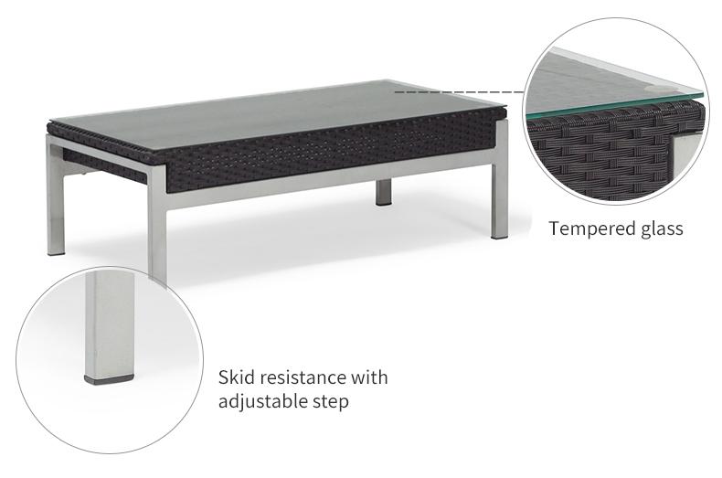 Xilli firaaqeedka Sofa Outdoor Patio Furniture