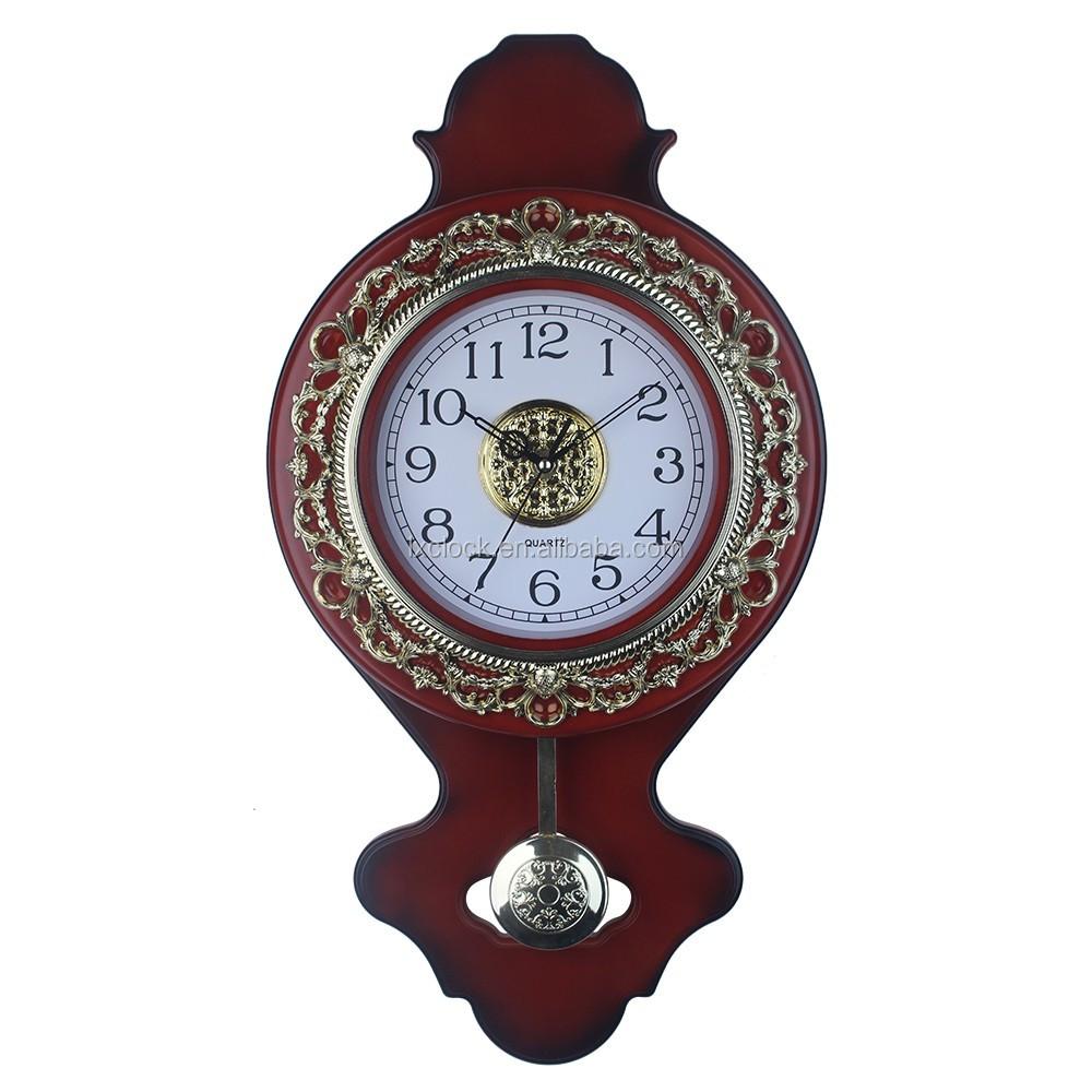Pendulum Clock Antique Wall Mounted