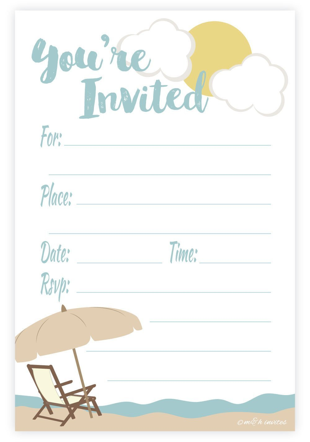 Cheap Summer Party Invitations, find Summer Party Invitations deals ...