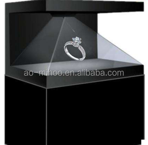 High Quality 3D Hologram Advertising Display for Jewelry display 32 inch