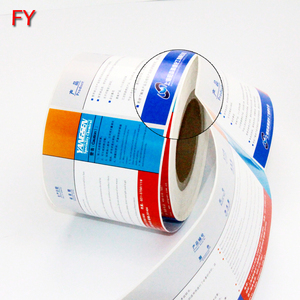 Wholesale custom best design printing paper sticker labels