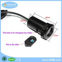 color changing led interior car light