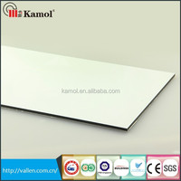Glossy series aluminium composite exterior wall panels Building material supplier