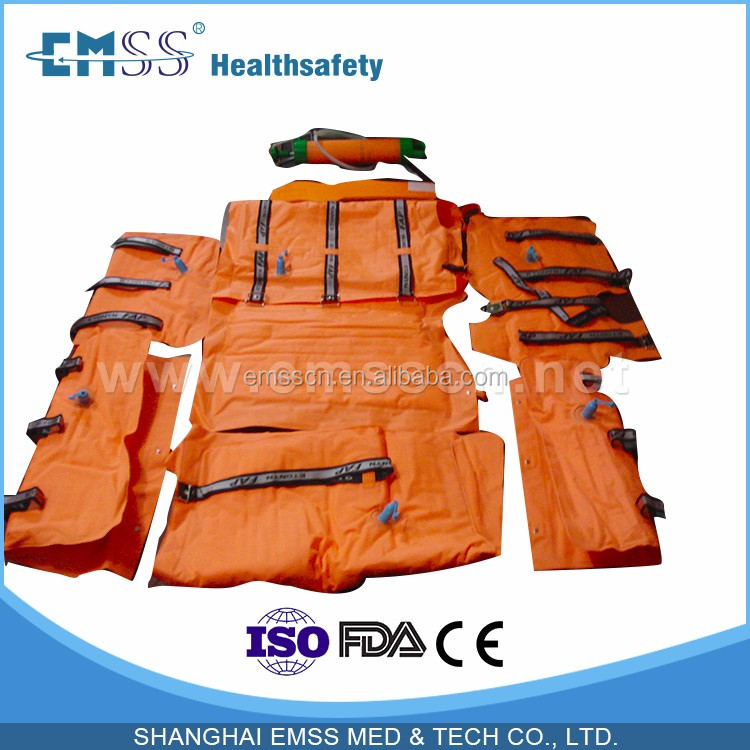China supplier vacuum splint shanghai emss