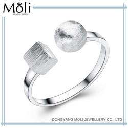 Best Selling New Design 925 Plain Sterling Silver Ring Fashion Jewellery with Fast Quick Delivery