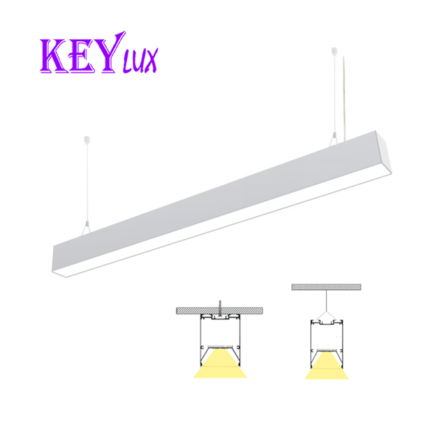 dimmable Pendant Lights Item Type and CE,SAA,RoHS,UL Certification Modern sample style LED linear light