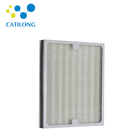 Mini pleat hepa air filter for clean room h13 pm2.5 air purifier made by magnet filters