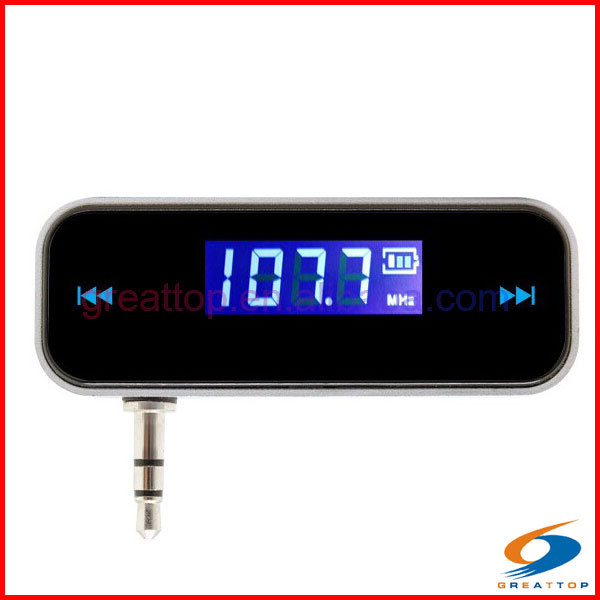 China supplier high quality best pioneer folder 3.5mm stereo rds audio car fm transmitter