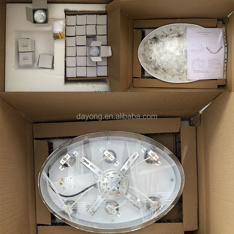 Round Stainless Steel Base Crystal LED 조명 fixture 대 한 호텔 로비
