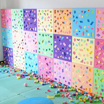 Baby Intelligence Blocks Eva Wall Bricks For Home Daycare Decoration ...