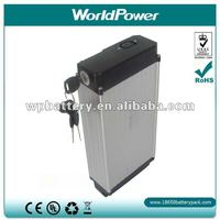 Two-Year Waranty! 24v 9Ah e-bike lithium battery/e bike lithium ion rechargeable batter pack