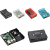 2018 new Raspberry Pi Starter Kit Raspberry Pi 3 Model B + ABS Case + 3A Power Adapter + Fan + Heat Sink + Cable
