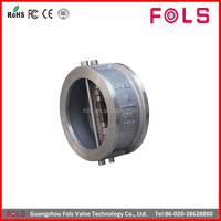 Wafer type 316 stainless steel 4 inch check valve price