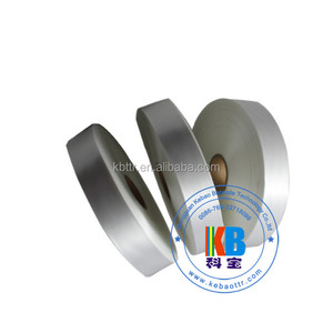 Garment labels accessories double sided printing adhesive blank fabric labels satin ribbon roll