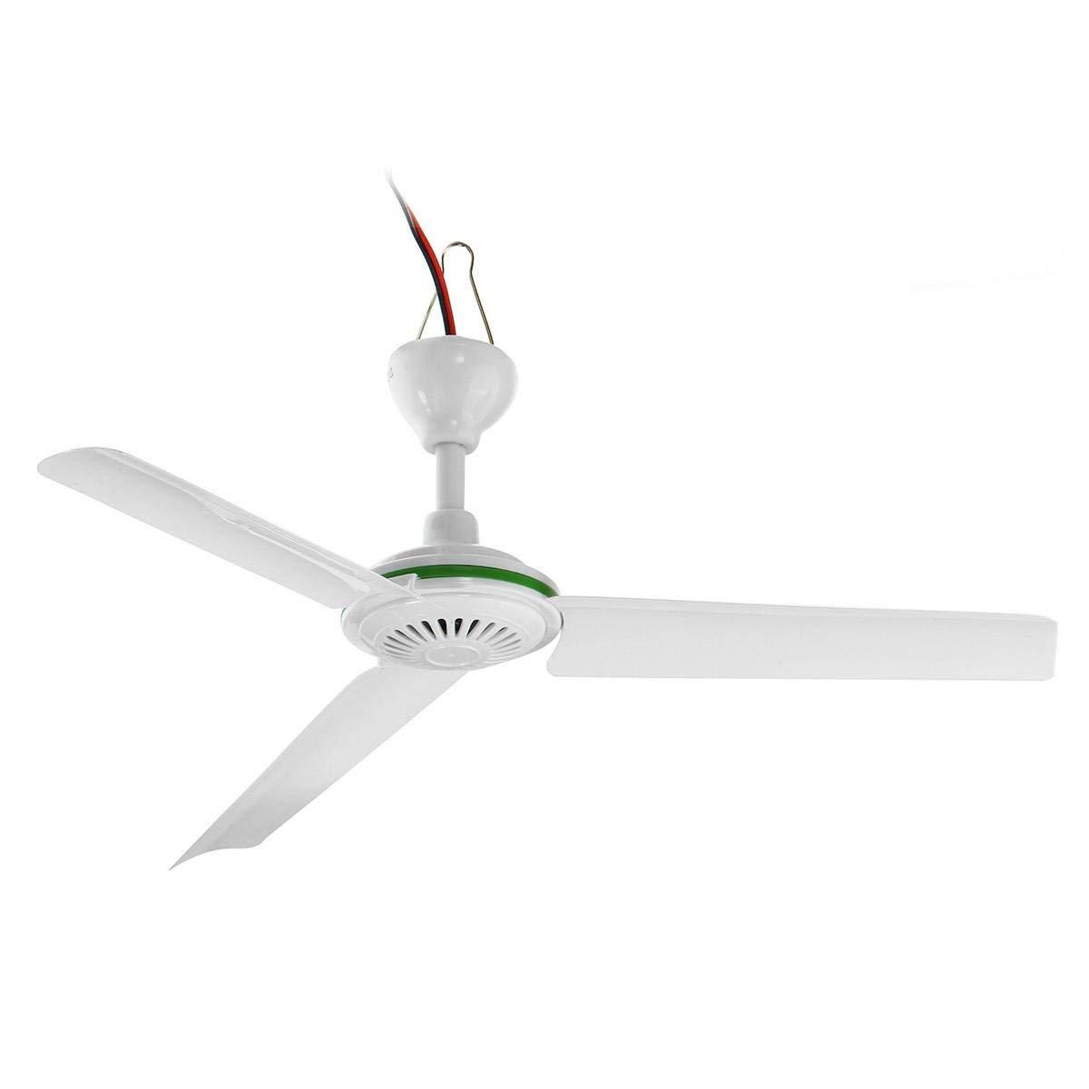 Buy Solar Fan Mini Ceiling Dc 12v 500mm Ceiling Fans