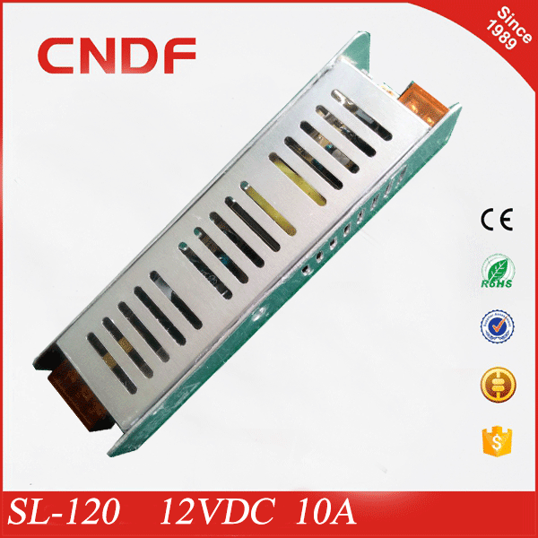 CNDF enclose power supply voltage converters applied to CCTV camera 60W 12VDC 5A power supply