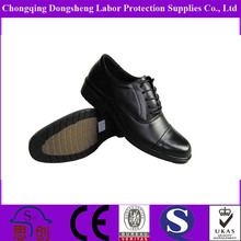 Low cut men executive safety shoes