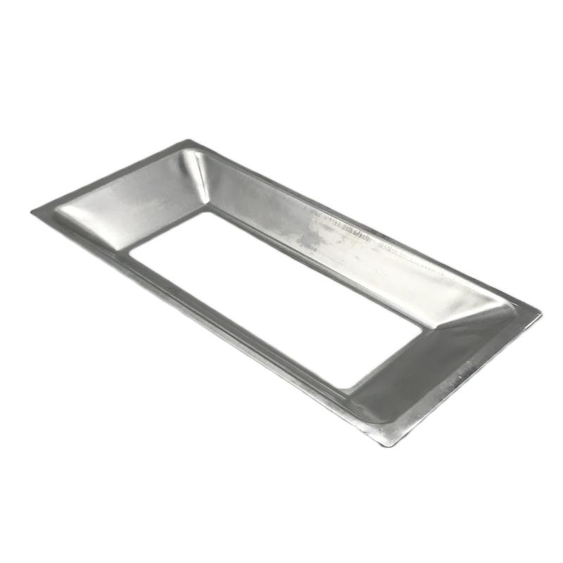Custom Precision Stamping Aluminum LED Light / Cob Reflector Cover