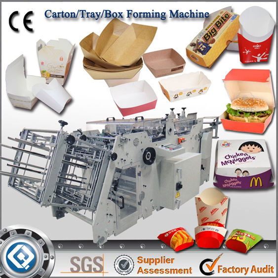 china manufacturer automatic folding carton gluers machine
