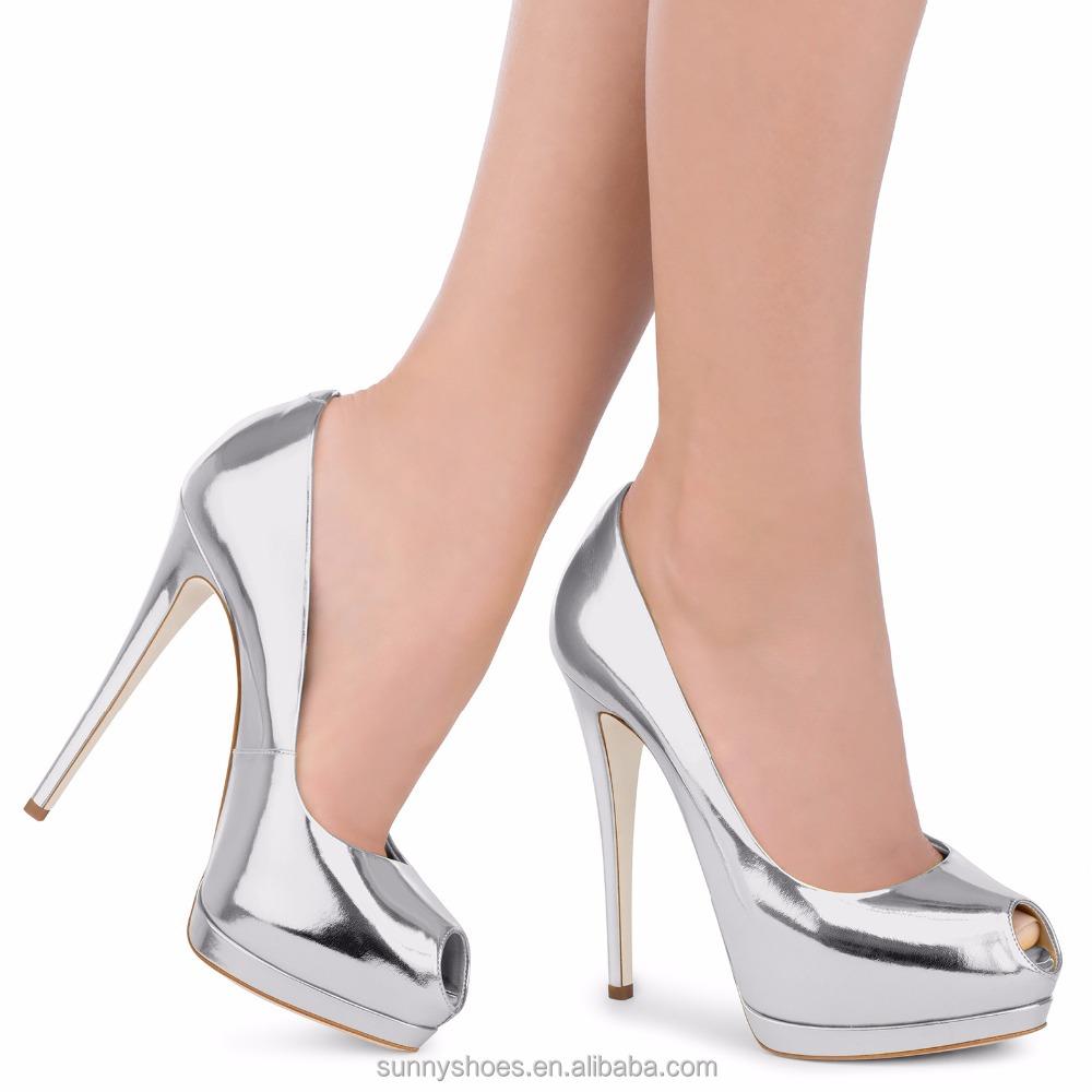 shoes women fancy high lastest ladies toe single 2017 open heel qPAFgzpWwa