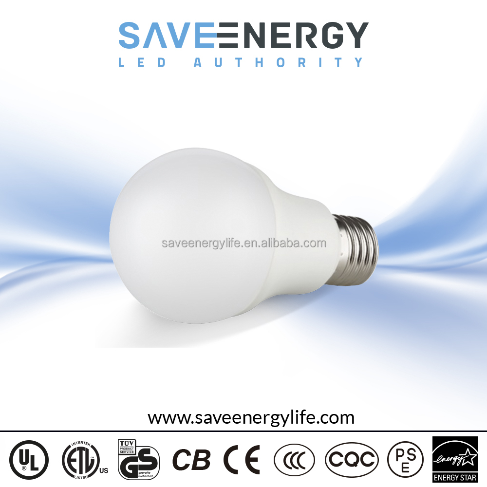 Color Changing Led Light Bulb A60 9w, led bulb with backup battery, primer bulb