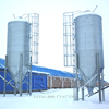 100T feed storage silos used for farm