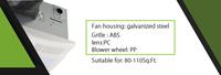 Bath Fan With Light Bpt16-14el-t3 90cfm Popular - Buy Bath Fan ...